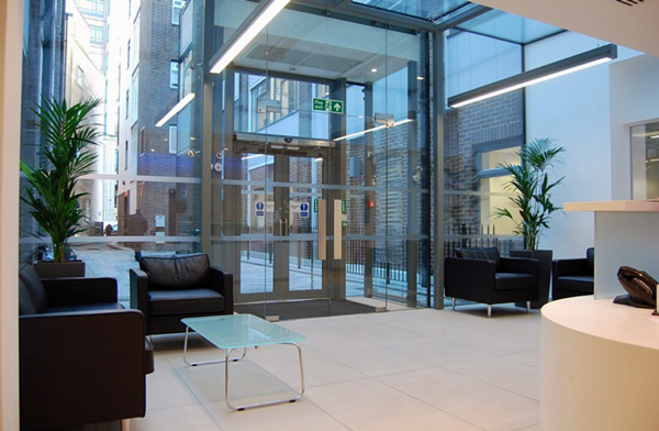 Counselling & therapy room rental Liverpool St station, City of London, EC2M - reception area